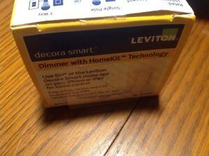 Leviton Decora Smart Dimmer With Homekit Technology Model: DH1KD-1BZ