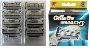 GILLETTE-MACH-3-RASIERKLINGEN-8er-Blister-ohne-OVP-NEUWARE