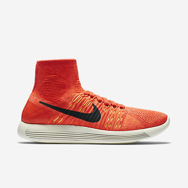 Nike Women's Lunarepic Flyknit Bright Crimson Running Training shoes shoes shoes Size 9 bf0afc
