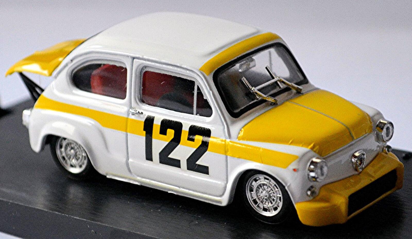 Fiat Abarth 850 TC Coppa Collina 1969 Avantieri-Bresci 1 43 Brumm