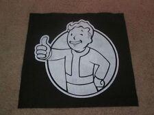 Fallout Vault Boy Back Patch - Horror - Punk - Hardcore.