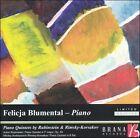 Piano Quintets by Rubinstein & Rimsky-Korsakov (CD, Nov-2002, Brana Records)