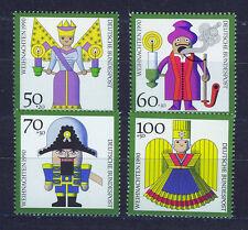 ALEMANIA/RFA WEST GERMANY 1990 MNH SC.B697/B700 Christmas