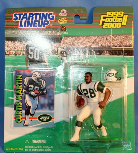 1999-2000 Starting Lineup Curtis Martin Action Figures New York Jets NFL