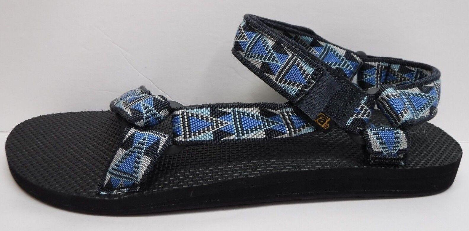 Teva Taglia 10 Blue Sandals New Uomo Scarpe