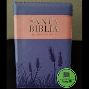 Biblia-Reina-Valera-1960-Letra-Grande-Ziper-index-Lila-Espigas