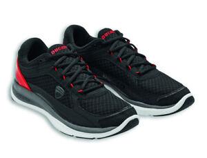 DUCATI-Alpinestars-REDLINE-Turnschuhe-Sneakers-Schuhe-Shoes-schwarz-rot-NEU
