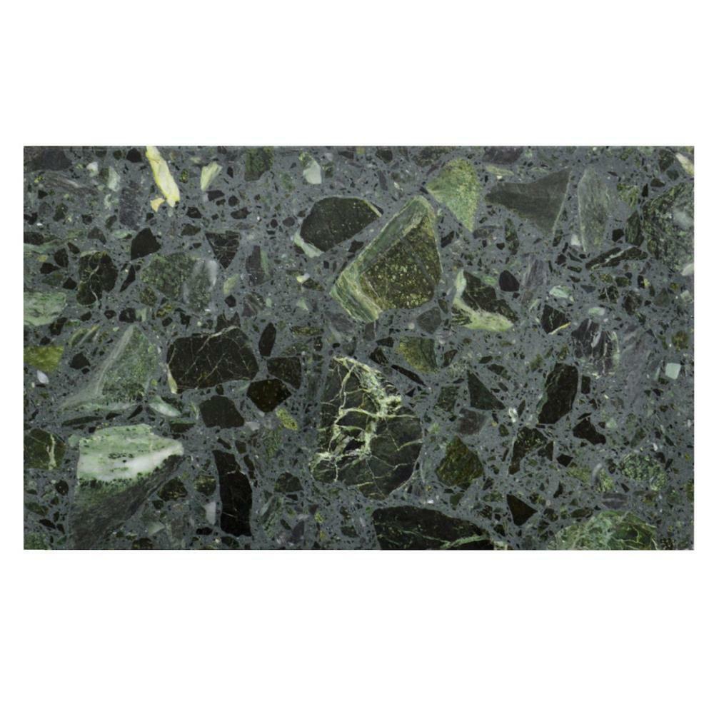 Bodenfliese Agglo Grün Alpi Naturstein grün anpoliert 30x50 cm