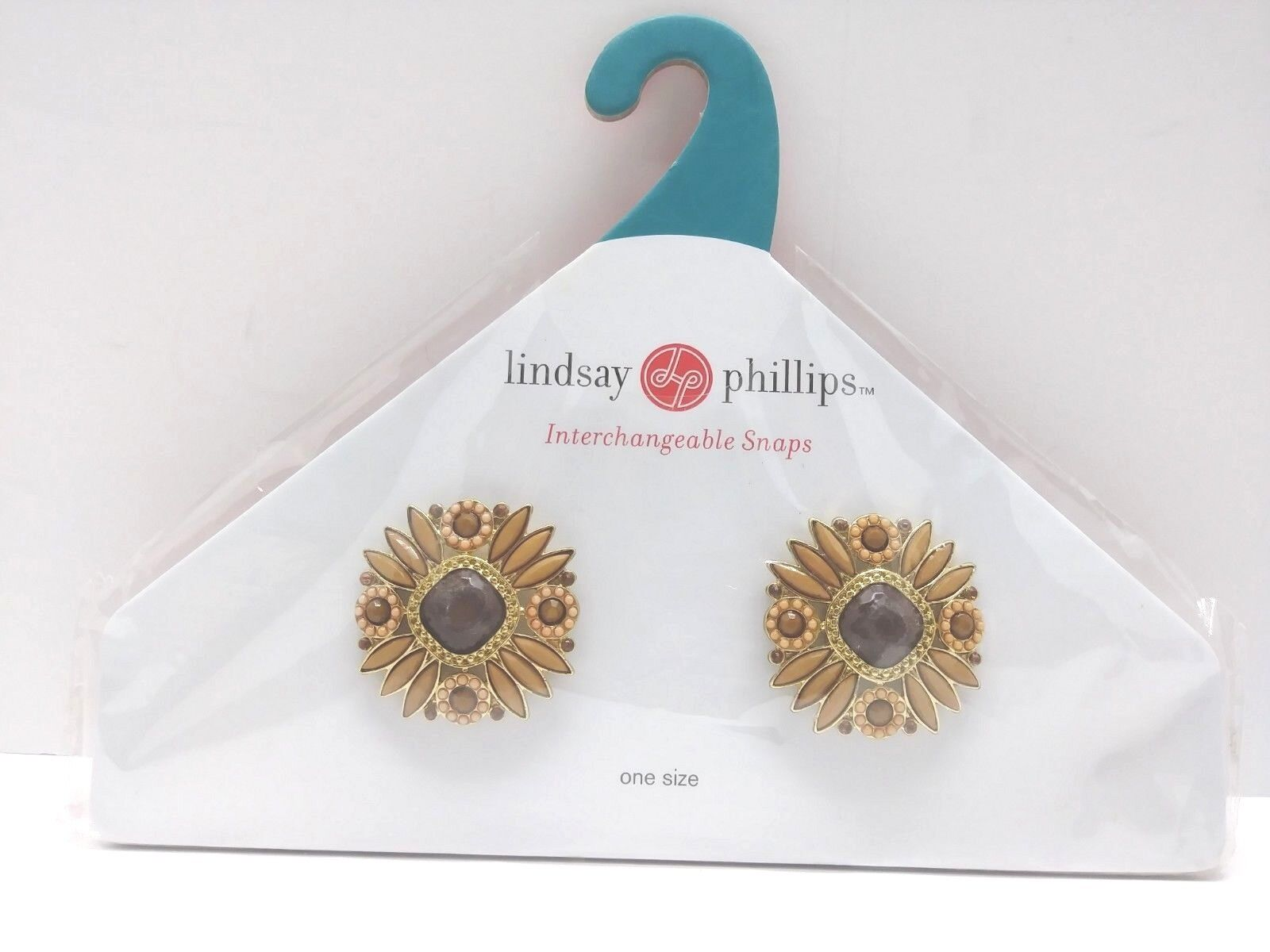Lindsay Phillips Interchangeable Snaps Shoe Charms-LOT OF 2