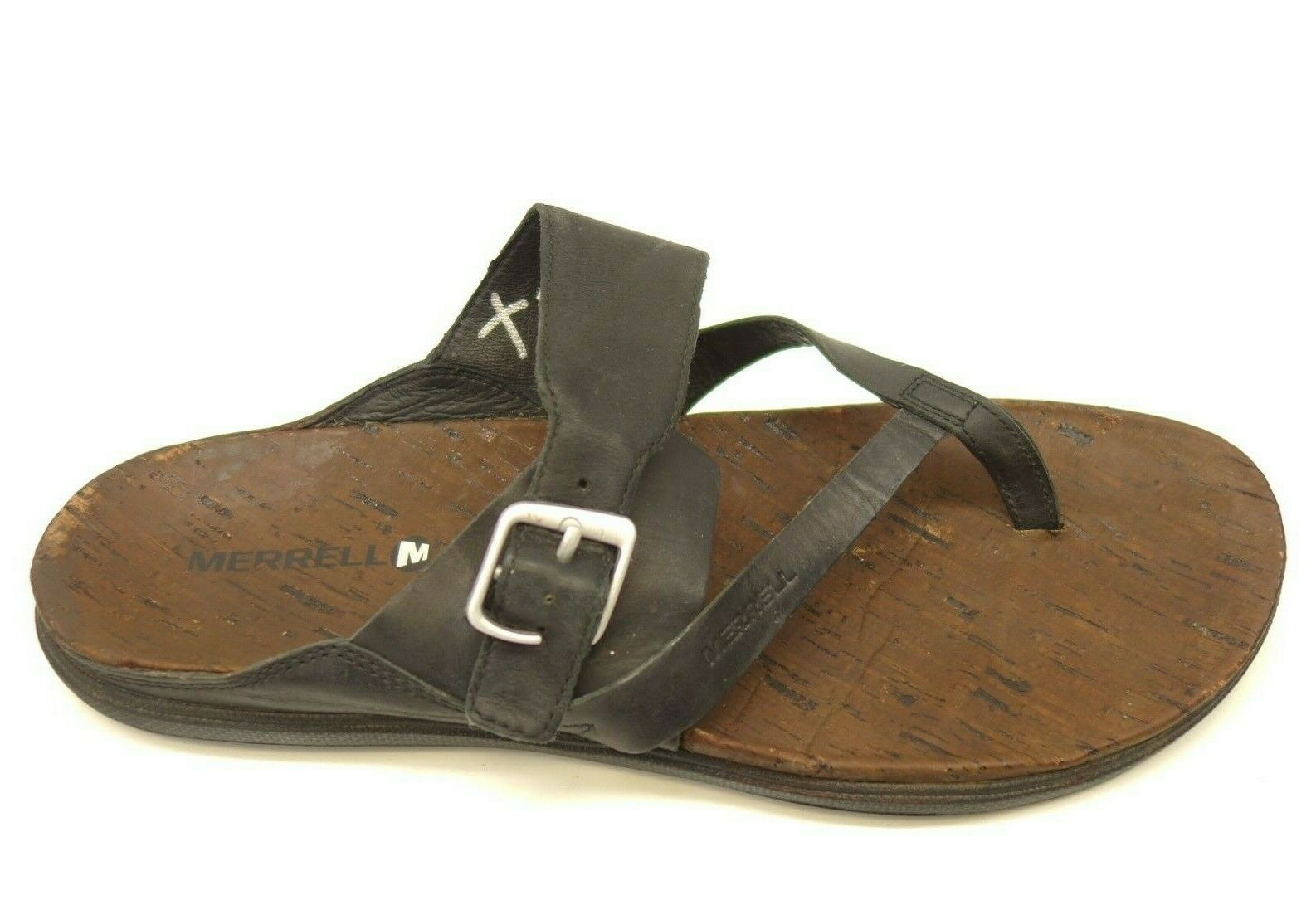Merrell Around Town Buckle US 11 EU 42 Leather Walking Womens Sandals shoes