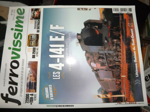 105 4-141 E//F//Bb 25150//72000 32 $$ferrovissime magazine no tgv a//de dietrich