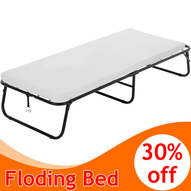 Linon Luxor Folding Bed With Memory Foam Twin For Sale Online Ebay