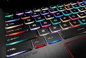 NEW For MSI GE73 7RC Raider GE73VR 7RE Raider keyboard Color backlit US Crystal