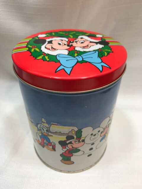 Disney Collectible Empty Pin Tin