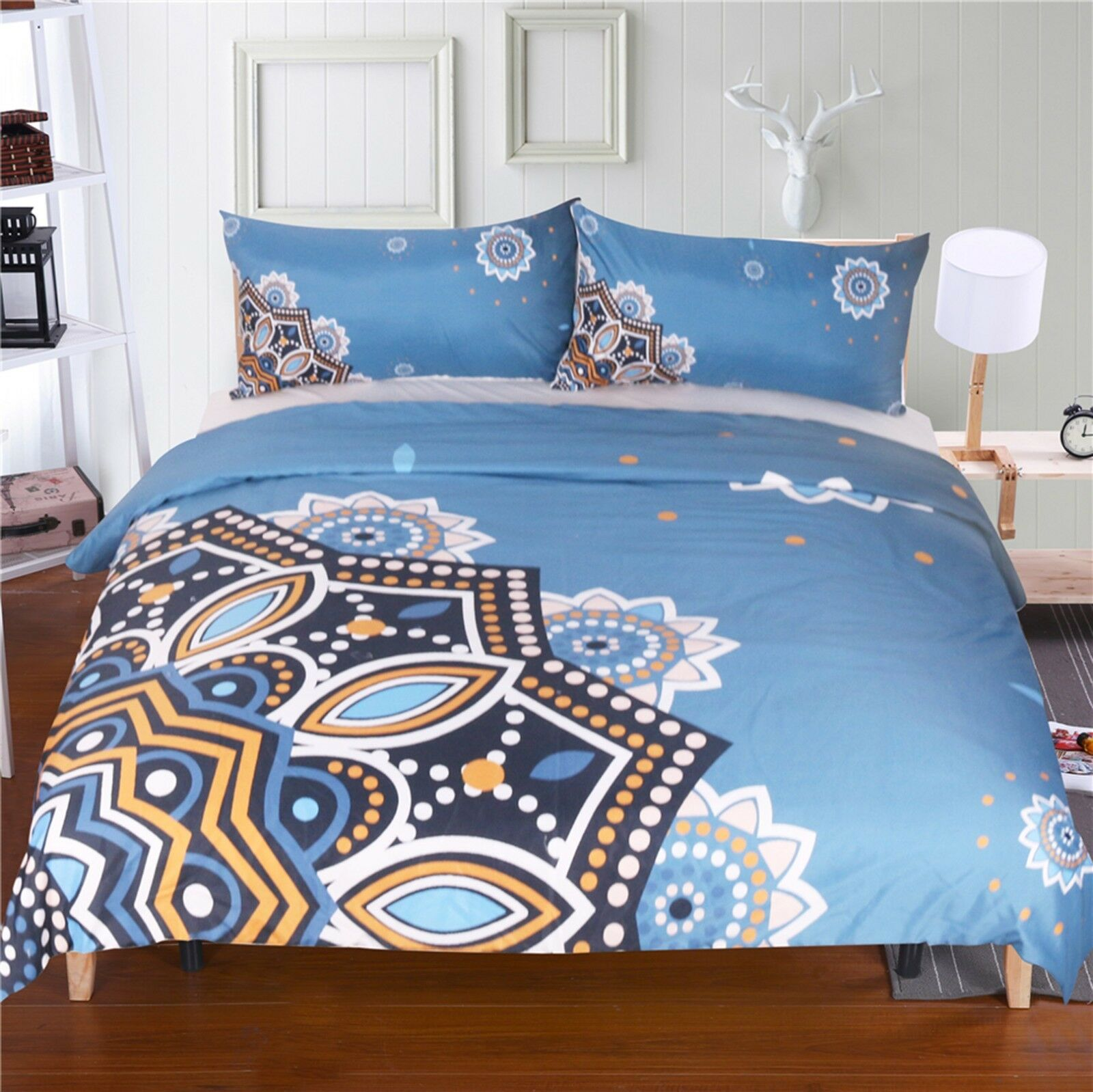 3D Flower Pattern 69 Bed Pillowcases Quilt Duvet Cover Set Single Queen King AU