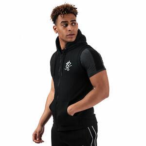 New Men/'s Designer Hoody Hooded Top Rouge Sleeves Gym Zip King Silk RRP £39.99