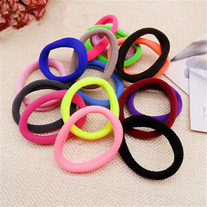 50pcs set Womens Hair Bands Girls Elastic Hair Ties Band Rope ... 64e4d28ec4e