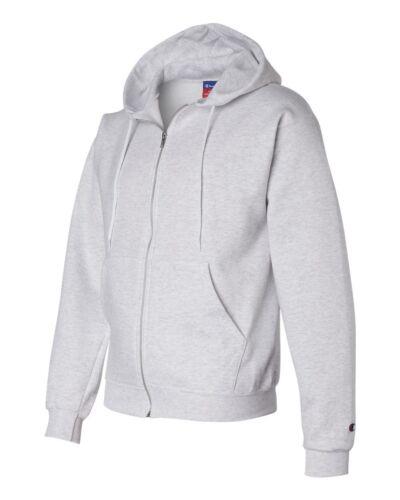 Champion Mens Size S-3XL Full Zip-Up Hooded Sweatshirt Fleece Hoodie Jumper S800