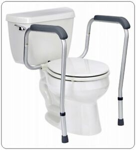 Tremendous Details About Medline Toilet Safety Rails Handicap Arms For Assist Elderly Seat Support Best Ibusinesslaw Wood Chair Design Ideas Ibusinesslaworg