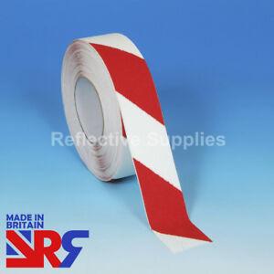 Blanc et Rouge anti dérapante danger ruban Indoor & Outdoor 25 mm 50 mm 100 mm (RS401Z)-afficher le titre d`origine CjmZI0hK-07134354-280771136