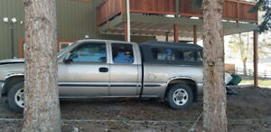 2002 GMC Pickup With Canopy