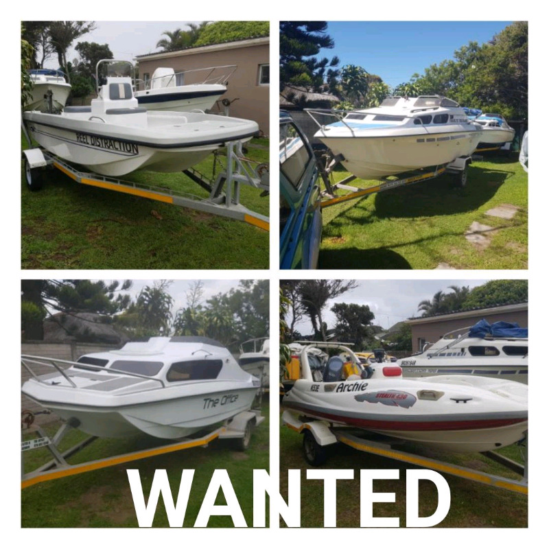 BOATS WANTED FOR CASH