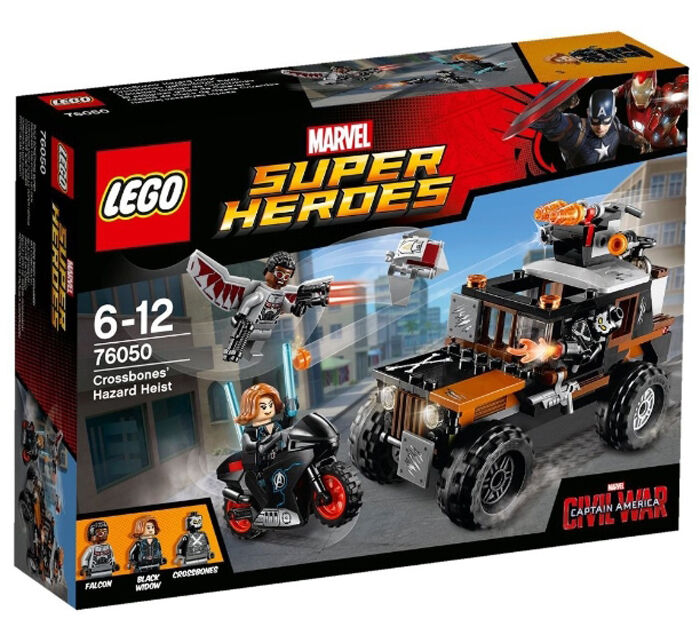 LEGO 76050  Super Heroes MARVEL Avengers Crossbones' Hazard Heist (New sealed)