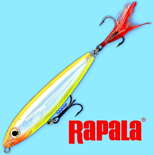 "Rapala Bone Chartreuse X-RAP SubWalk Dog Subsurface 3.5/"" Fishing Lure XRSB09 BNC"