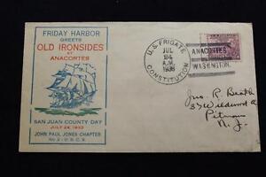 Naval-Cubierta-1933-de-BARCO-Cancelado-Viernes-Harbor-Anacortes-U-S-F