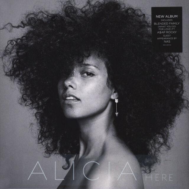 ALICIA KEYS HERE VINILE LP NUOVO SIGILLATO