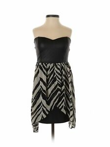 NWT-Papaya-Women-Black-Cocktail-Dress-S