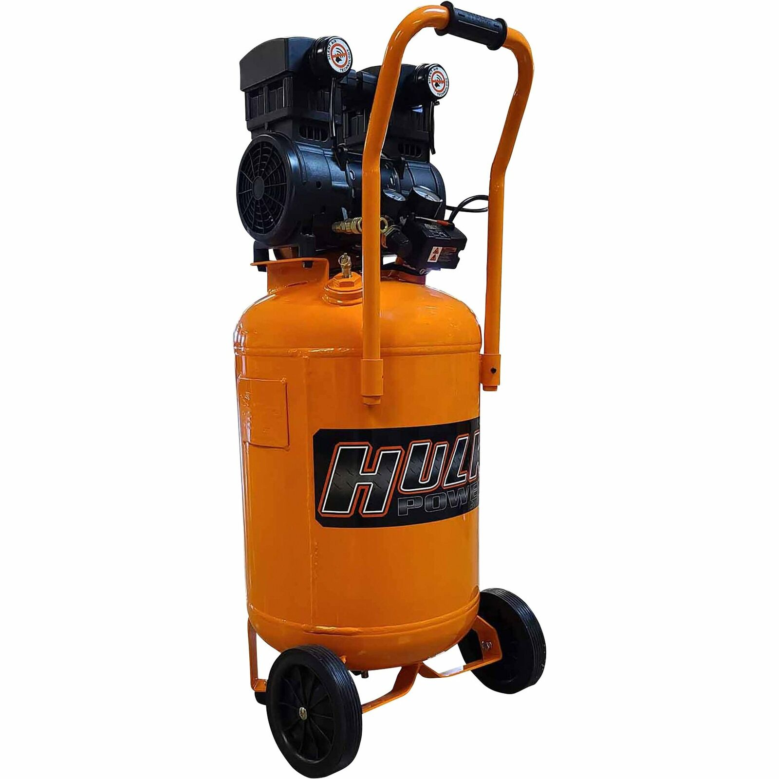 EMAX Hulk Silent Air Portable Air Compressor- 2 HP 20 Gallon Model# HP02P020SS. Buy it now for 399.99