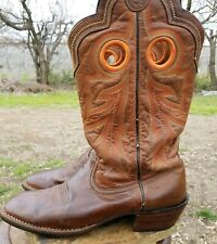 299fcfc84e3 Ariat Western BOOTS Mens Wildstock 10 D Weathered Brown 10005876 for ...