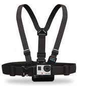 Harness Adjustable Elastic Belt Body Chest Strap Mount for GoPro Hero 1 2 3 UK