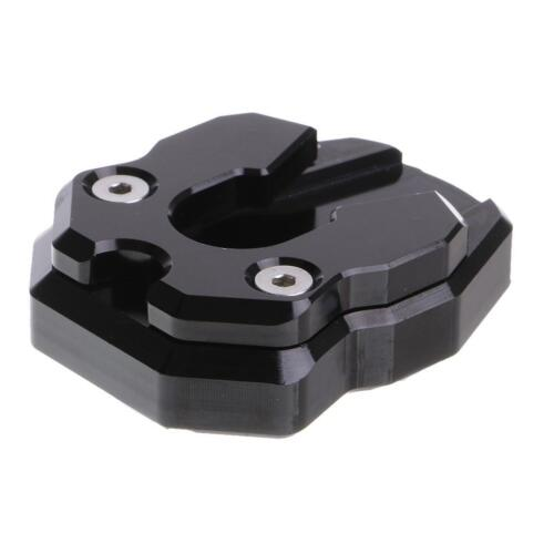CNC Kickstand Side Stand Enlarge Pedal Pad Plate for Yamaha Nmax155 Black
