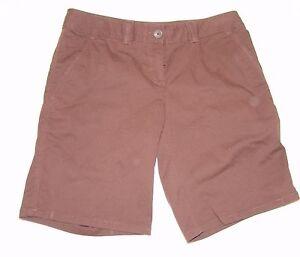 Tommy-Bahama-Ellery-039-FIT-Mujer-Marron-Pantalones-cortos-4-PARTE-DELANTERA-Lisa