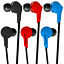 G-Shield-RX-651-In-Ear-Stereo-Earphones-Noise-Isolating-Headphones-iPhone-iPod thumbnail 1