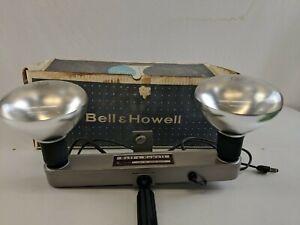 Vtg Bell Howell Flood Light Bar Lamp Indoor Movie Camera 28801