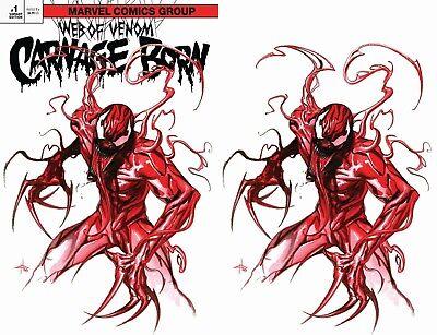 WEB OF VENOM CARNAGE BORN 1 MAYHEW VARIANT PRESALE SPIDER-MAN LTD 1000