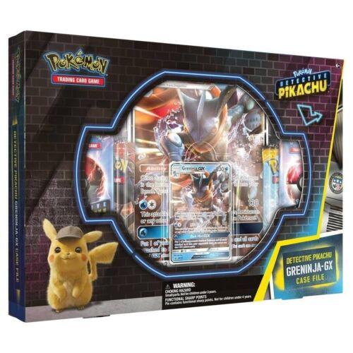 Pokemon Novo Detective Pikachu Greninja Gx caso Especial Arquivo Pokemon