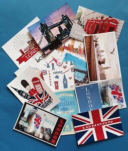 Brand NEW London Postcards Various Quantities available