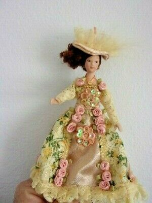 Victorian Lady Miniature Dollhouse  Picture