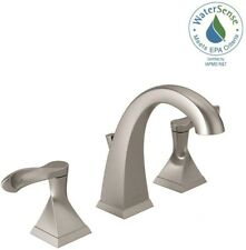 Etonnant Delta Bathroom Sink Faucet 8 In. Widespread 3 Hole 2 Handle Brushed Nickel