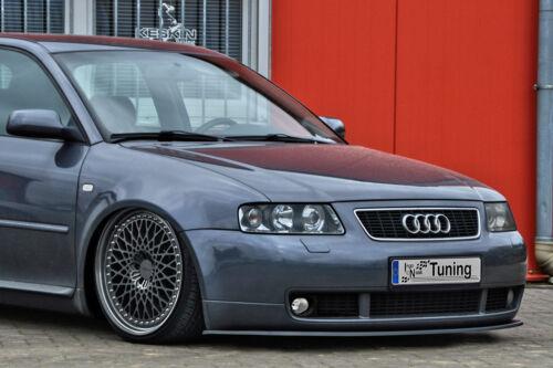 Spoilerschwert Frontspoiler Lippe Cuplippe aus ABS für Audi S3 8L mit ABE