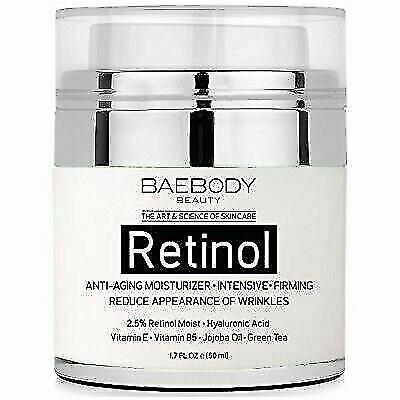retinol moisturizer cream for face and eye