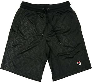 Fila-Black-Bailey-All-Over-Print-Shorts