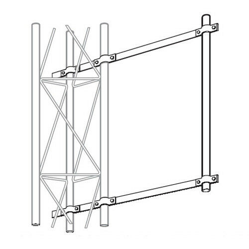 ROHN SA253UA Universal Side Arm Antenna Mount OEM NEW for ROHN 25G 45G Tower. Buy it now for 216.65