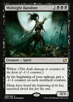 Midnight Banshee Modern Masters 2015 PLD Black Rare MAGIC MTG CARD ABUGames