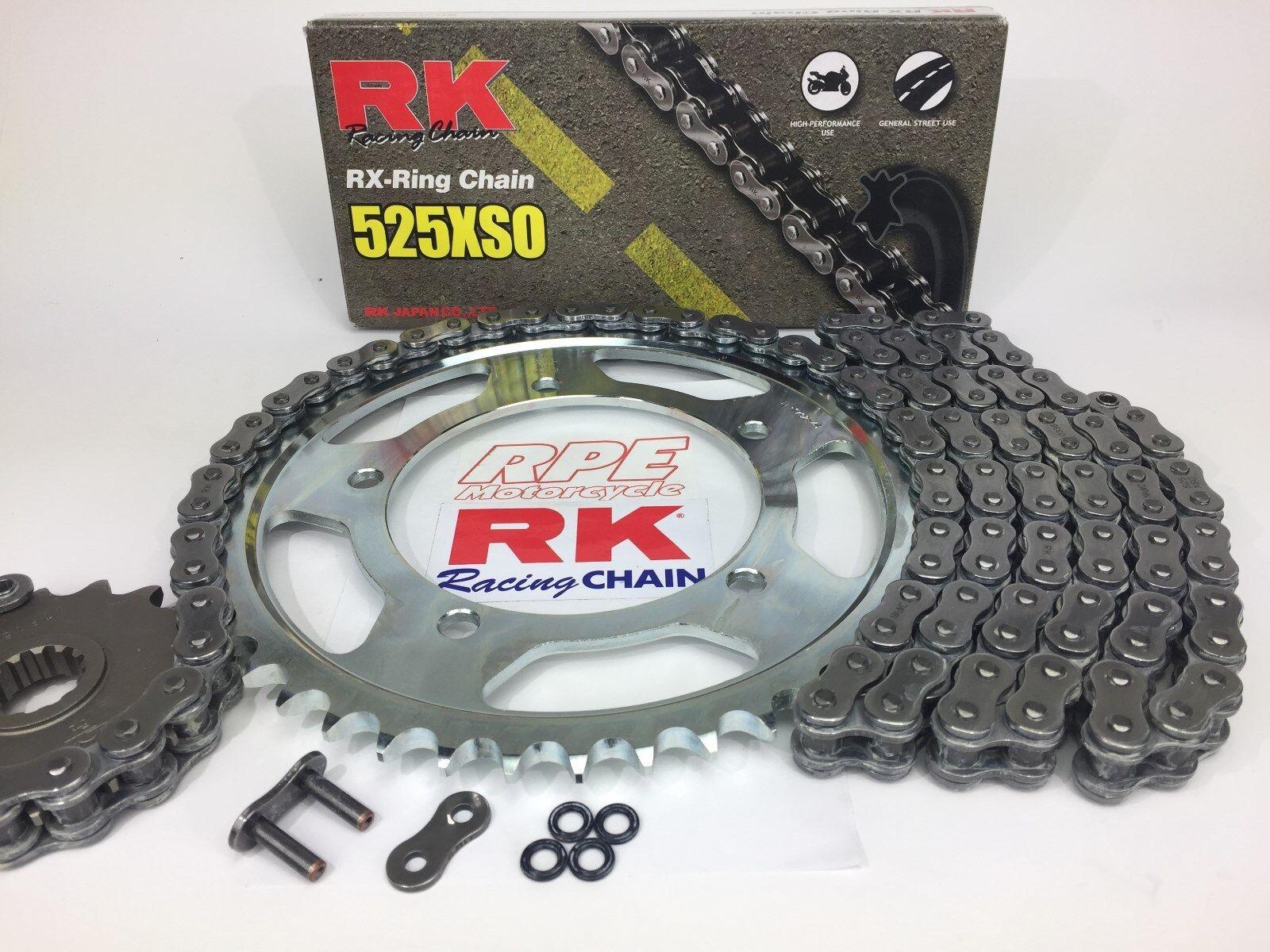 Honda CBR600F 2011-2013 Renthal /& DID 520 Pitch Race Chain Sprocket Kit