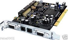 RME HDSP 9632 PCI soundcard - AES/EBU S/Pdif analog I/O- NEW sealed item